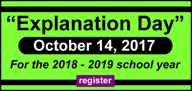 Explanation Day 2017 - 2018